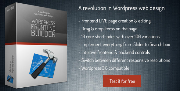 CodeCanyon Frontend Builder Wordpress Content Assembler 5310338
