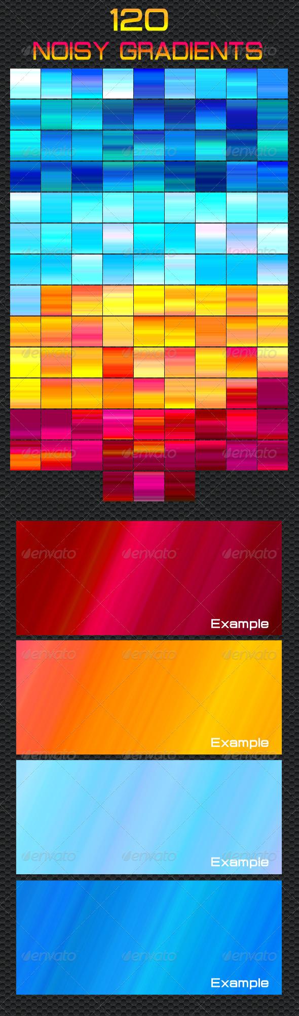 GraphicRiver 120 Noisy Gradients 5310467