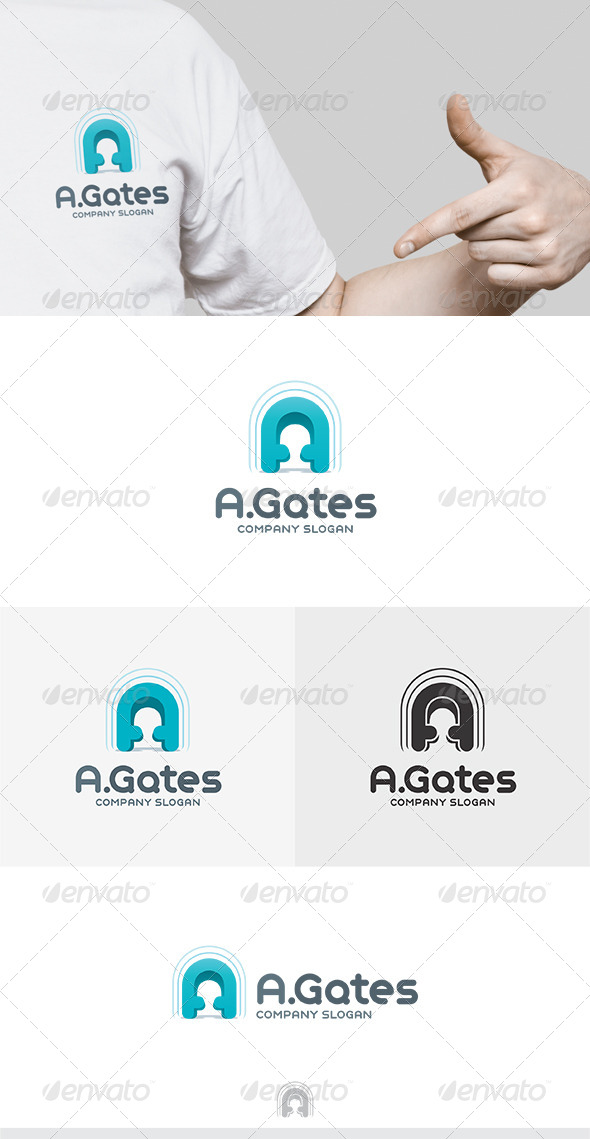 GraphicRiver A Gates Logo 5310568