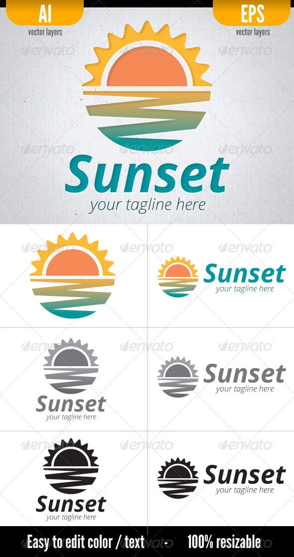 GraphicRiver Sunset 5310764