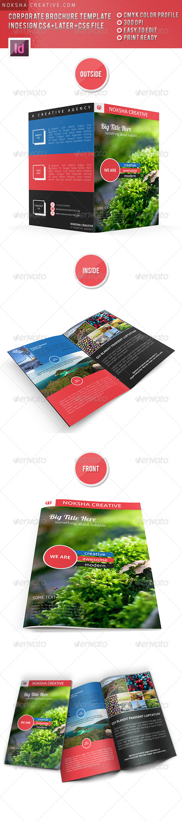 GraphicRiver Corporate Bi-fold Brochure 5311690