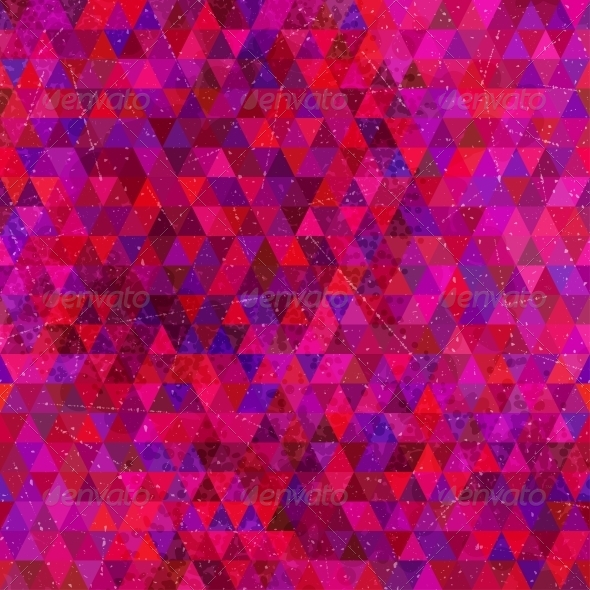 GraphicRiver Retro Triangles Seamless Pattern 5312056