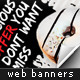 Delicious Web Marketing Banners - GraphicRiver Item for Sale