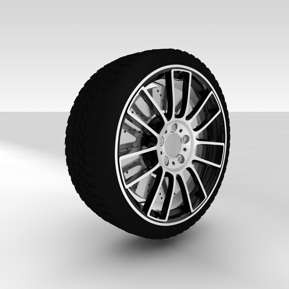 3DOcean Car Wheel 5312525