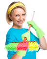 Young woman as a cleaning maid - PhotoDune Item for Sale