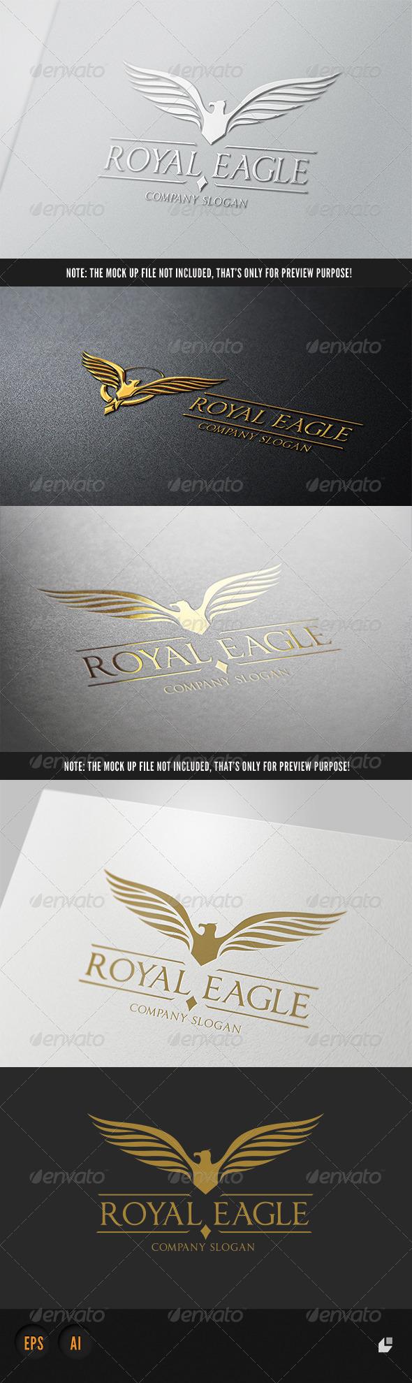 GraphicRiver Royal Eagle Logo II 5312561