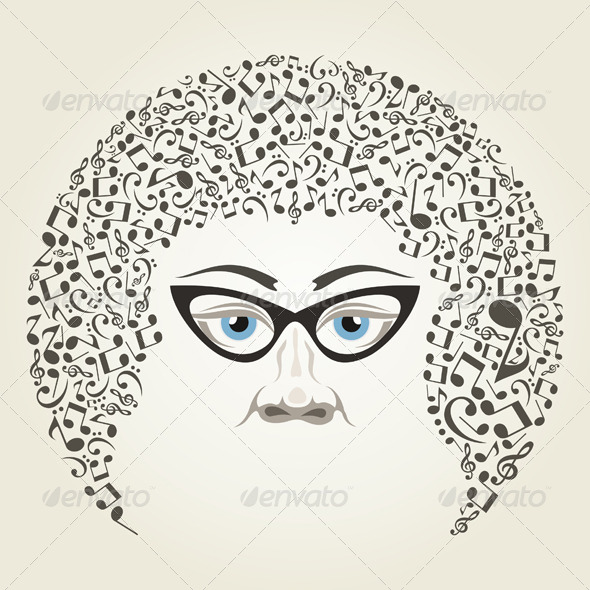 GraphicRiver Man the Musician 5313003