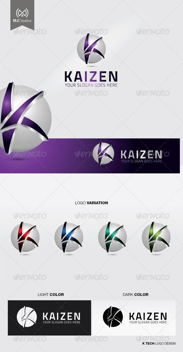 Logo 3d k Tech L...K Logo 3d