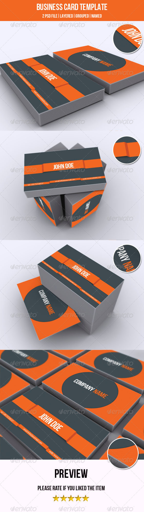 GraphicRiver Business Card Template 5314291