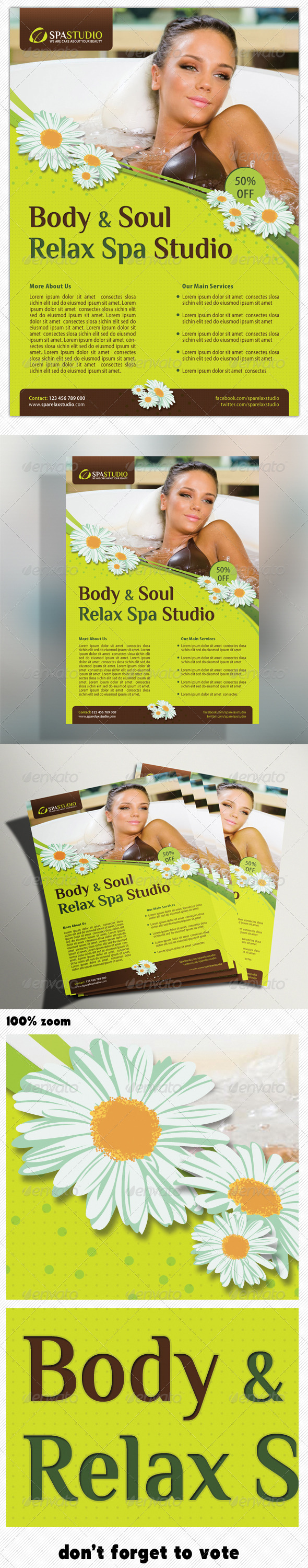 GraphicRiver Spa Studio Flyer 07 5314311