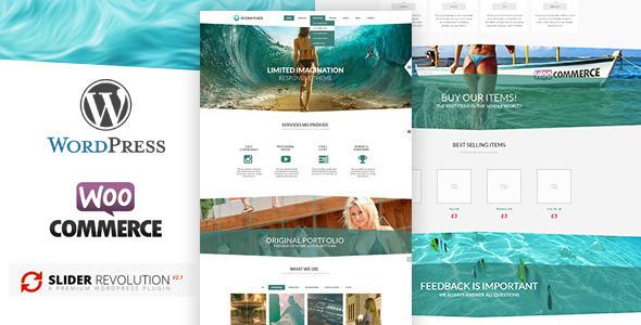 ThemeForest OceanPlaza WordPress Parallax Theme 5288704