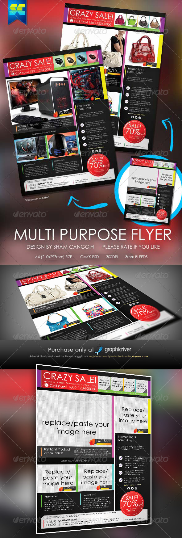 GraphicRiver Multi-purpose Modern Flyer 5265249