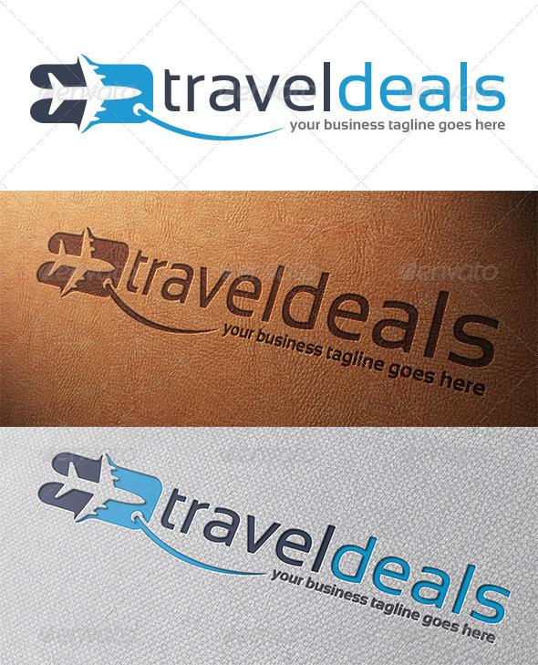 GraphicRiver Travel Deals Logo Template 5315716