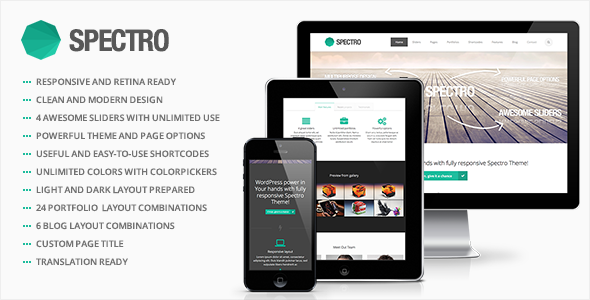Spectro - Responsive Multi-Purpose Theme - Business Corporate