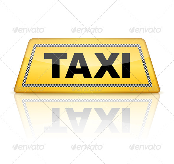 GraphicRiver Taxi Sign 5316361