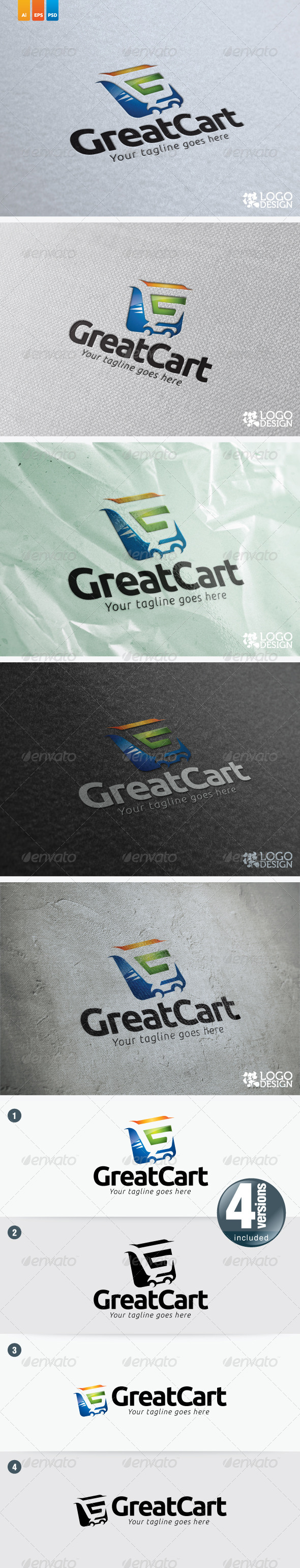 Great Cart - Objects Logo Templates