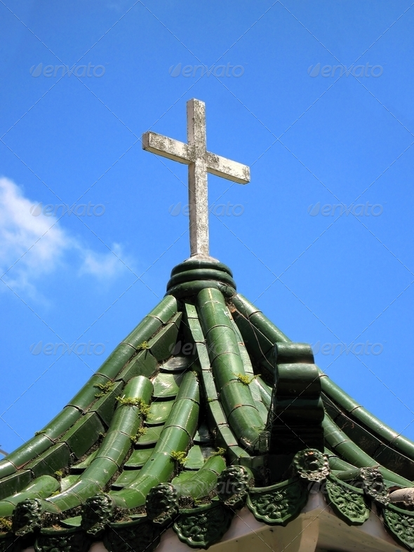 Catholic Shrine - Stock Photo - Images