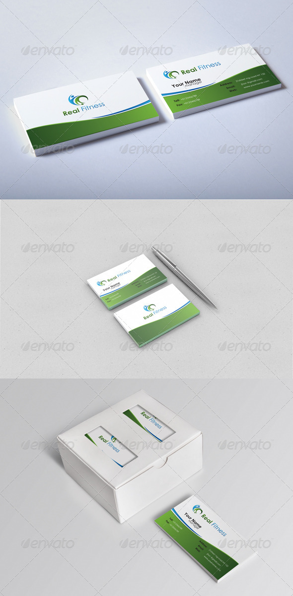 GraphicRiver Real Business Card 5317233