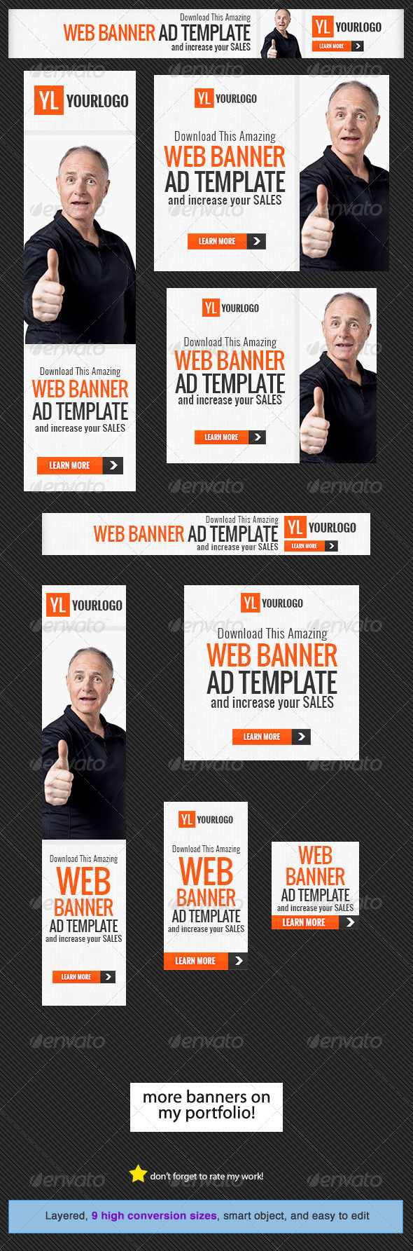 Corporate Web Banner Design Template 20
