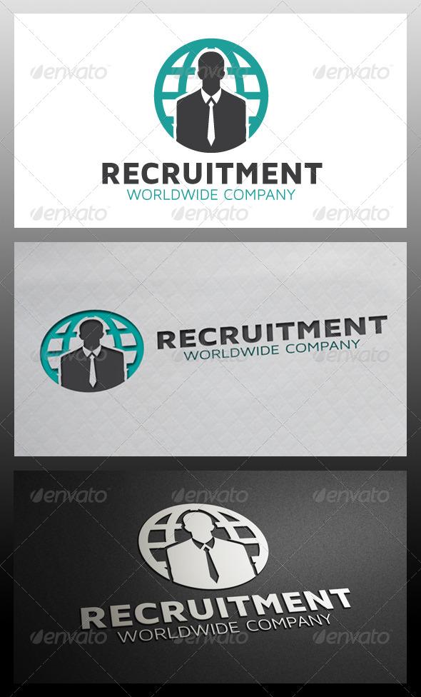 GraphicRiver Recruitment Logo Template 5318674