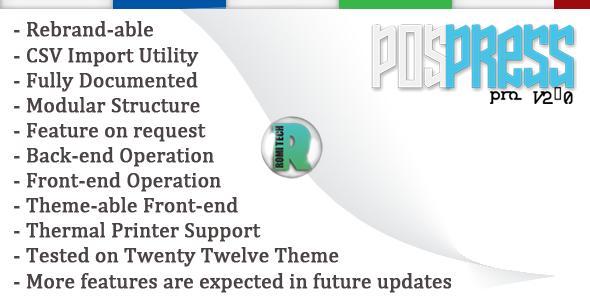 PoSPress Pro V2.0 (Standalone) images