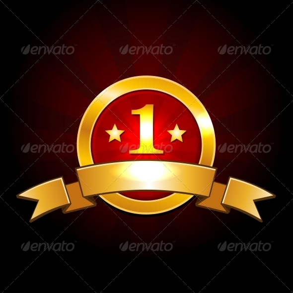 GraphicRiver Award Label with Ribbons Vector 5318845