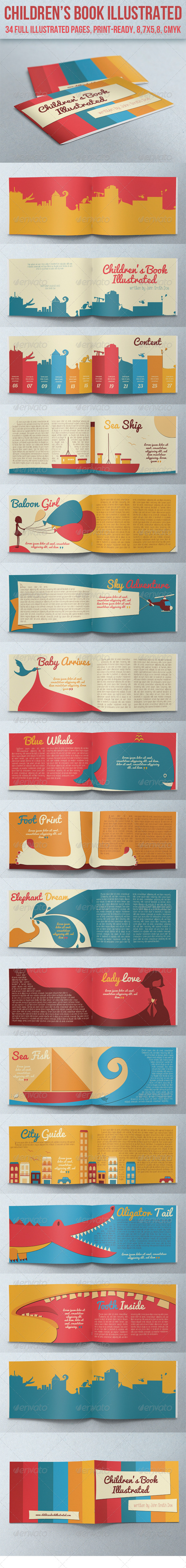 GraphicRiver Children s Book Illustrated 5318893