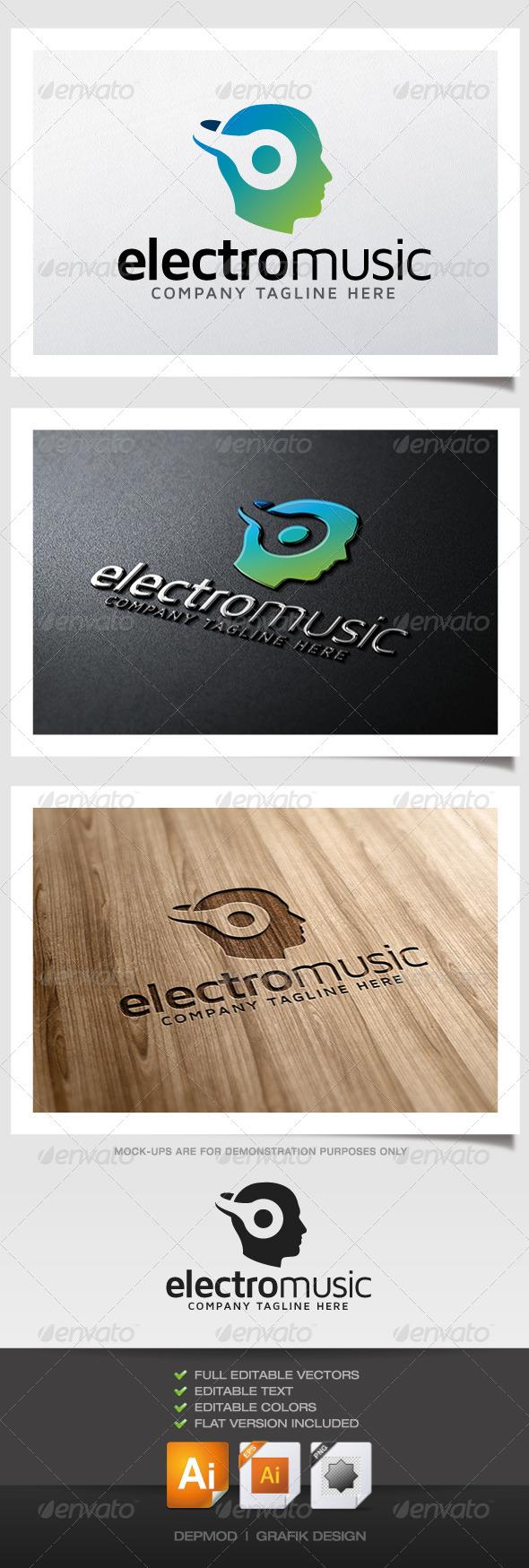 GraphicRiver Electro Music Logo 5318997