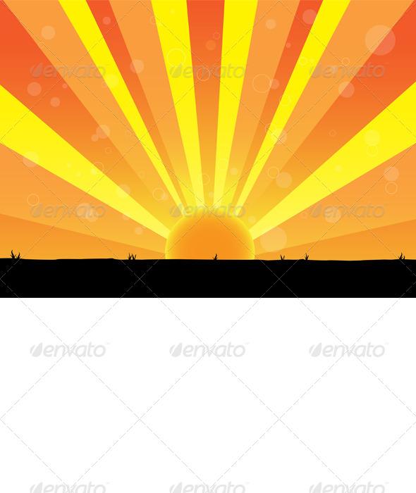 GraphicRiver Nature of Sunrise 5319290