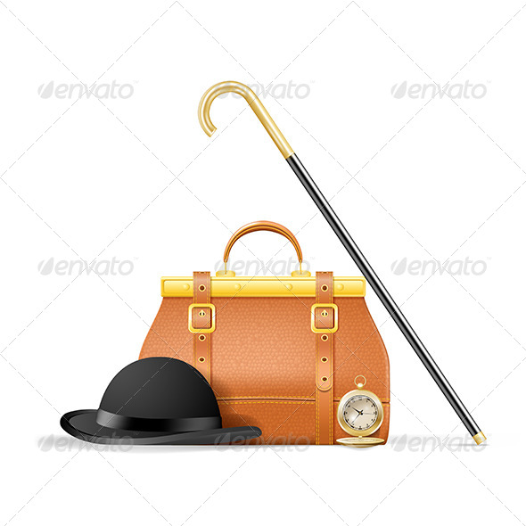 GraphicRiver Accessories of a Gentleman 5319292