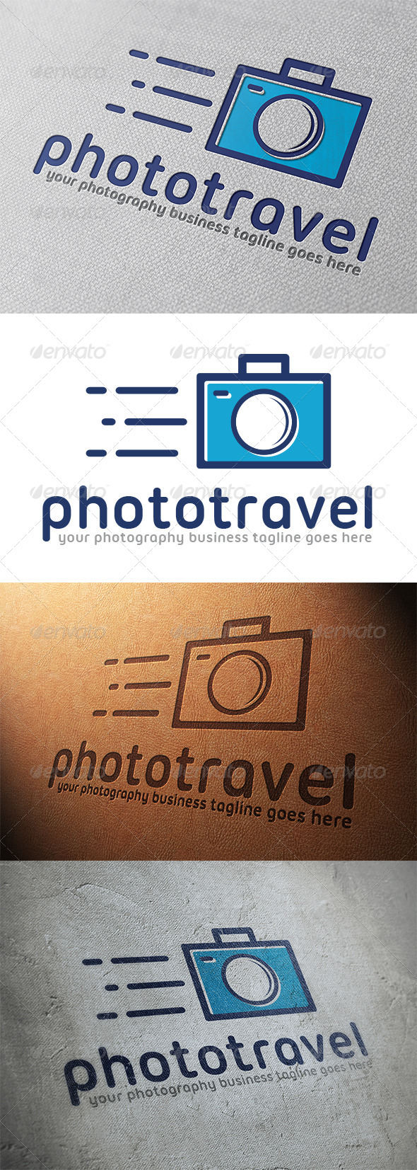 GraphicRiver Photo Travel Logo Template 5319622