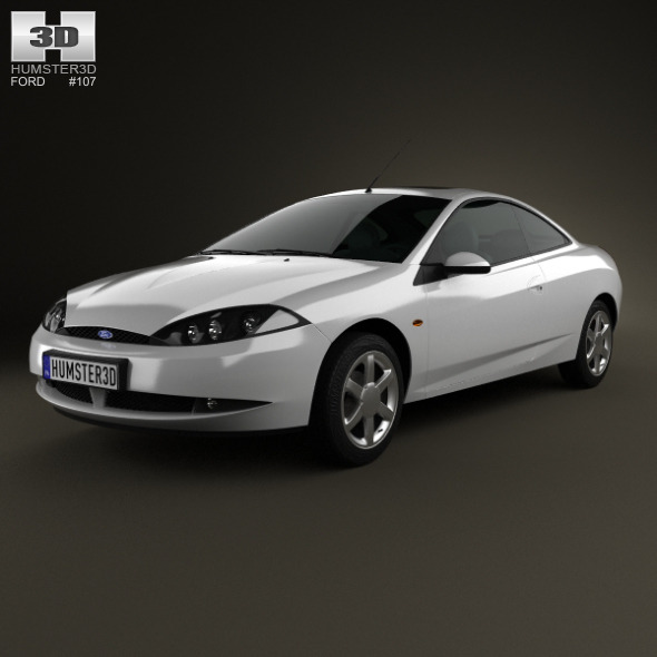 Ford Cougar 2002 - 3DOcean Item for Sale