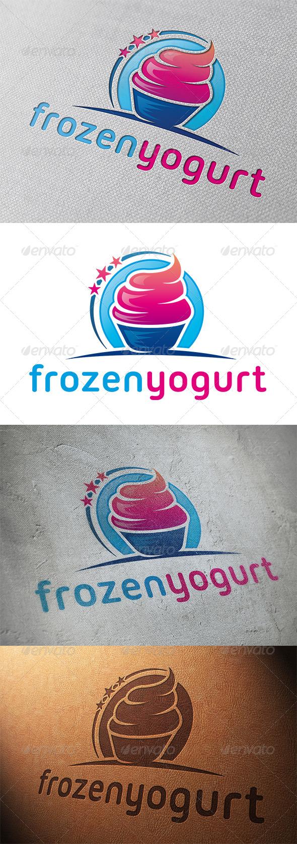 Logotipos para Heladerías y Yogur Helado.