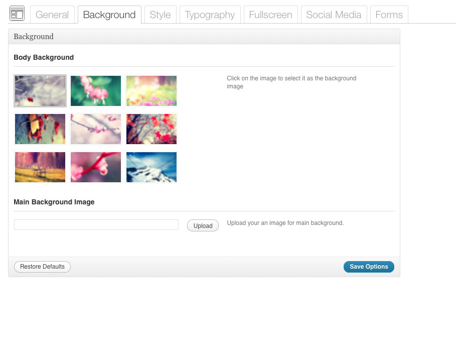 Obscura - Responsive WP Fullscreen Gallery & Blog