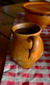 Traditional Clay Mug for Drinking Hot Chocolate - PhotoDune Item for Sale