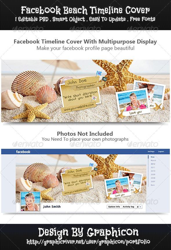 Facebook Beach Timeline Cover