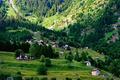 Beautiful view in Swiss Alps