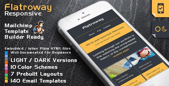 ThemeForest FlatroWay Metro Flat Responsive Email Template 5320652