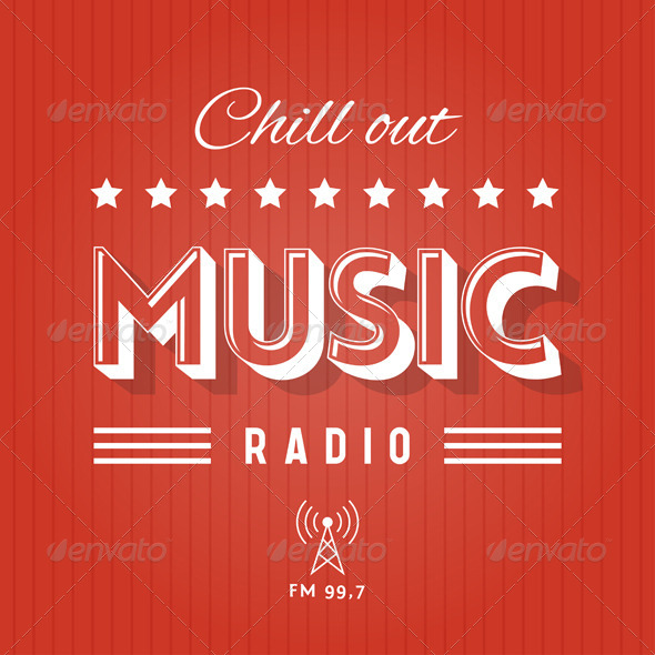 GraphicRiver Chill Out Music Radio 5320659