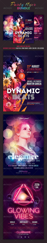 GraphicRiver Top Party Flyer Bundle Vol.2 5320670