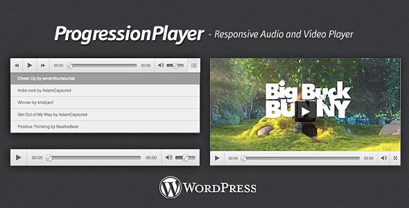 ProgressionPlayer – WordPress Plugin (Media) images