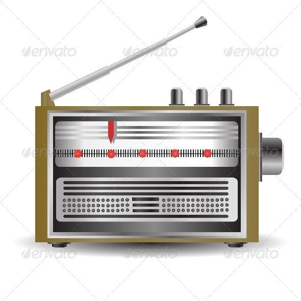 GraphicRiver Retro Radio 5320799
