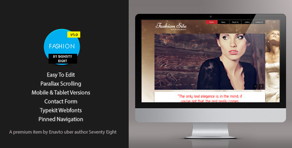 ThemeForest Muse Fashion 5308037
