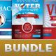 Voter Election Flyer Template Bundle-Vol 001 - GraphicRiver Item for Sale