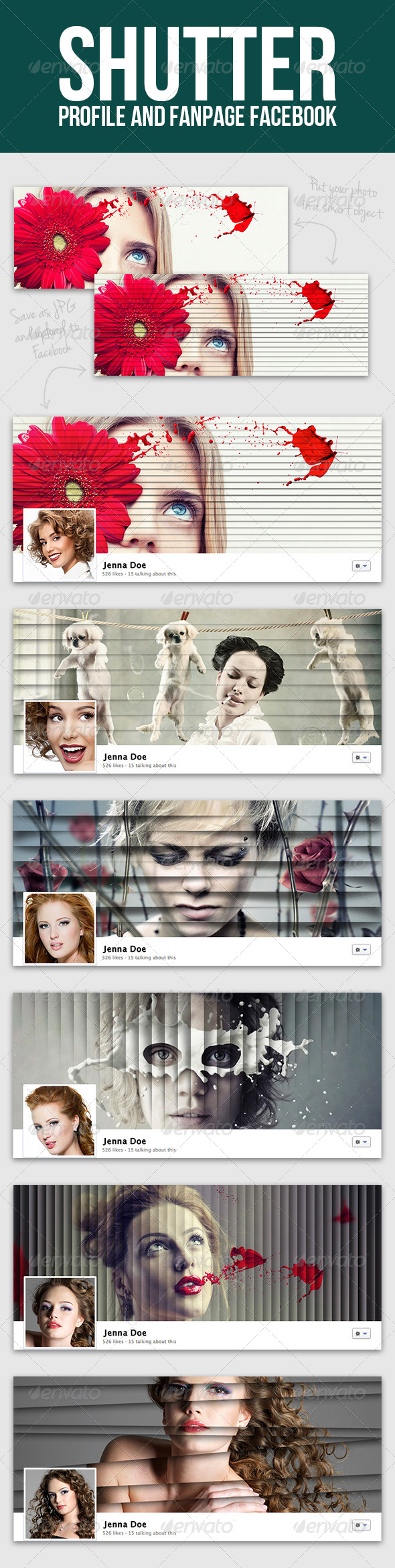 GraphicRiver Shutter Facebook Cover 5322399