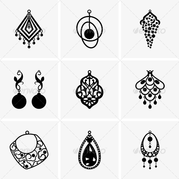 GraphicRiver Earrings 5323406