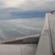 Plane Through A Series Of Cloud - VideoHive Item for Sale
