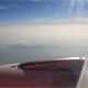 Mountain And Land From Aircraft Window - VideoHive Item for Sale