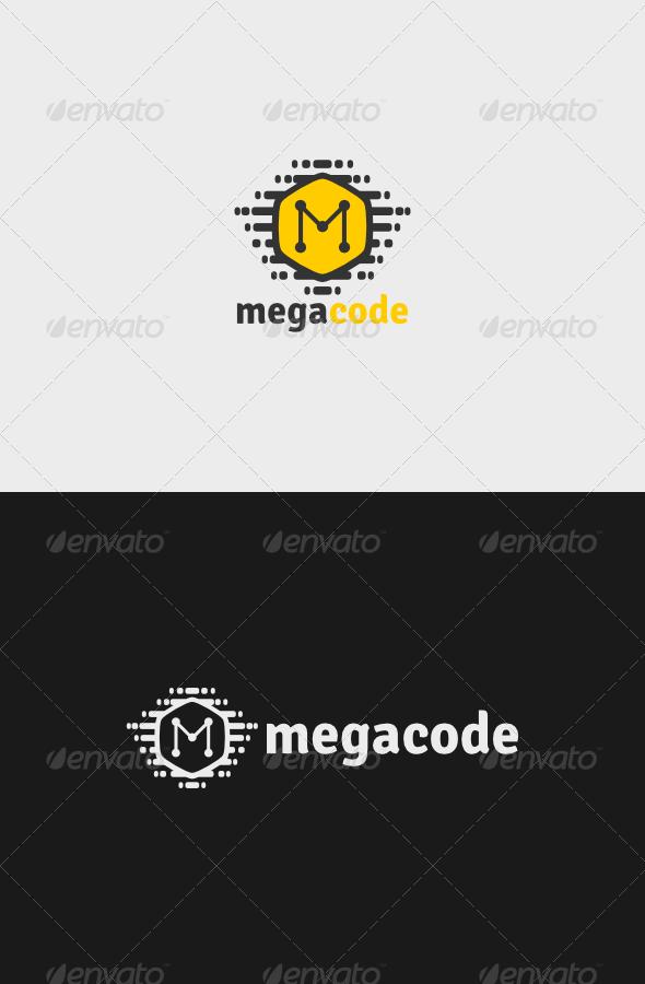 GraphicRiver Mega Code Logo 5324486