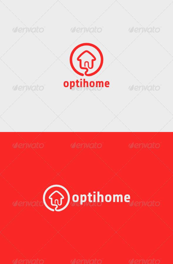 GraphicRiver Opti Home Logo 5324510